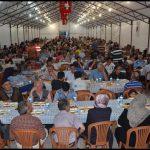 Iftar çadırı görüntüleri