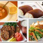 Iftar menüsü fotoğrafları