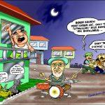 Ramazan davulcusu karikatür