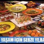 Resimli iftar menüsü