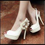 Topuklu Gelin Ayakkabısı Modelleri