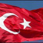 Türk bayrağı göklerde