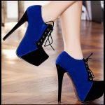 Süet Topuklu Ayakkabı Modelleri