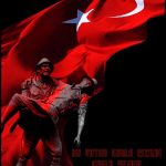 Ay yıldız şehit türk bayrağı