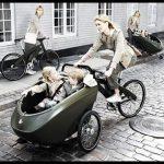 İkiz bebek bisikleti