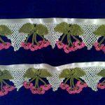Tığ işi havlu kenarı modelleri   5
