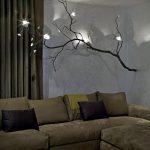 Ağaçlı lambaderler