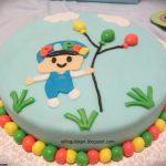 Bebek doğum günü pastası