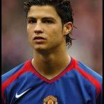 Cristiano uzun saçlı