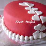Evde doğum günü pastası