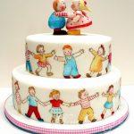 Katlı doğum günü pastası