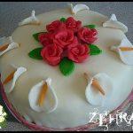 Merzipanlı Pasta Resimleri