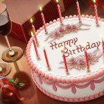 Süslü doğum günü pastası