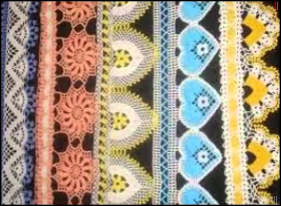 Tığ işi havlu kenarı örnekleri yeni
