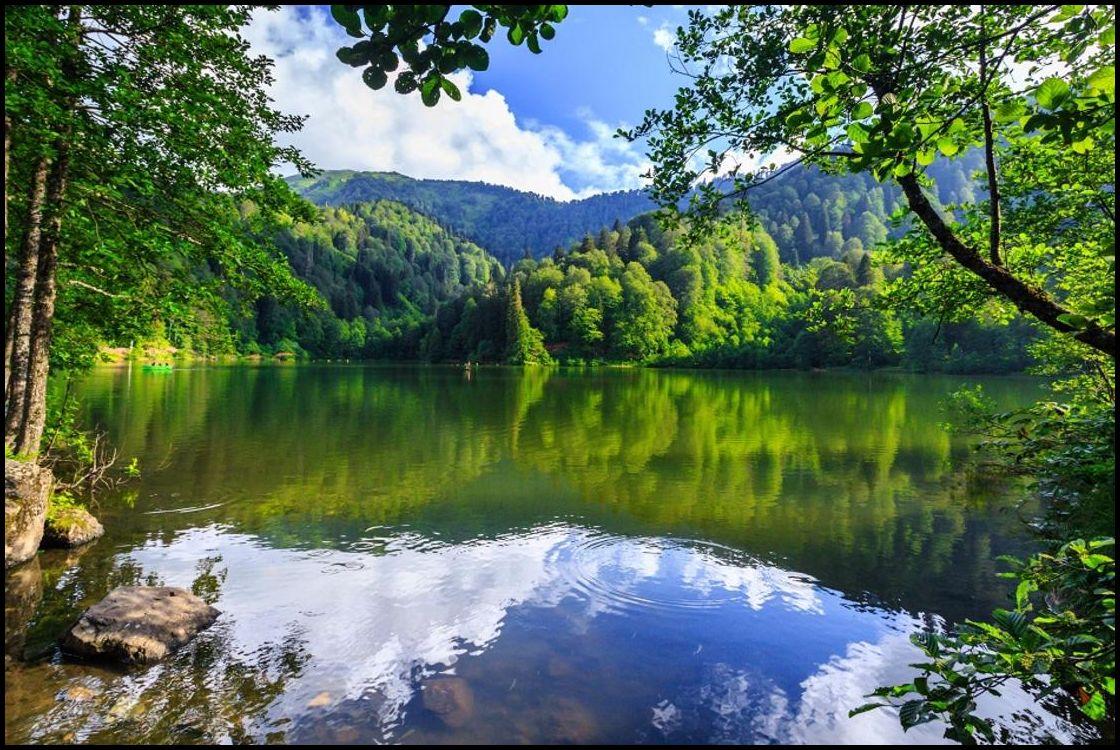 Göl manzarası profil resimleri