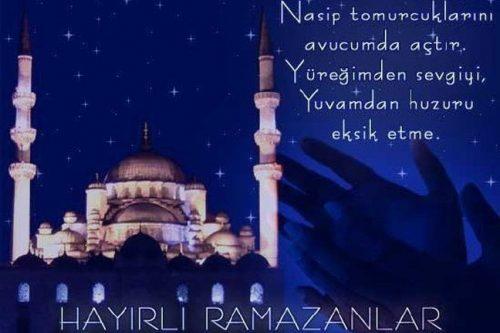 Ramazan ayi sözleri