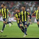 Fenerbahçe gol sevinci