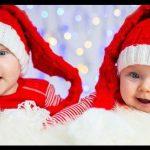 İkiz bebek yılbaşı noal baba