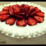 Basit doğum günü pastası