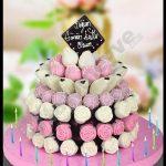 Bayan doğum günü pastası