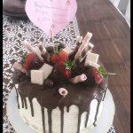 Doğum günü pastası notu