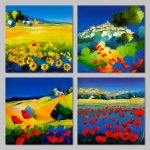 Çiçekli Manzara Resimleri