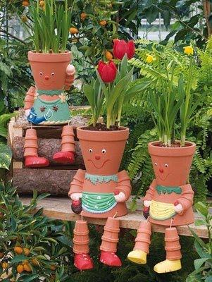 Bahçe Saksı Modelleri