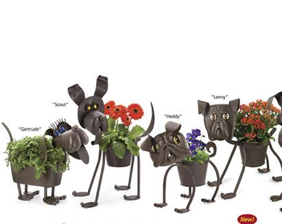 Hayvanlı Saksı Modelleri